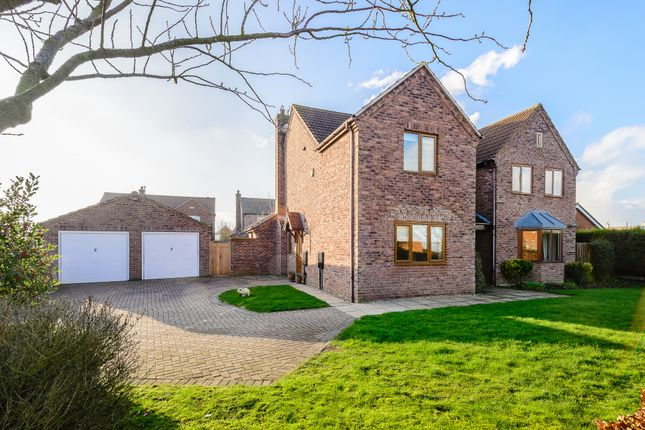 Thumbnail Detached house for sale in Century Lane, Saxilby, Lincoln