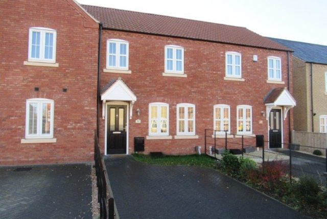 Thumbnail Town house to rent in Pitsford Close, Waddington, Lincoln