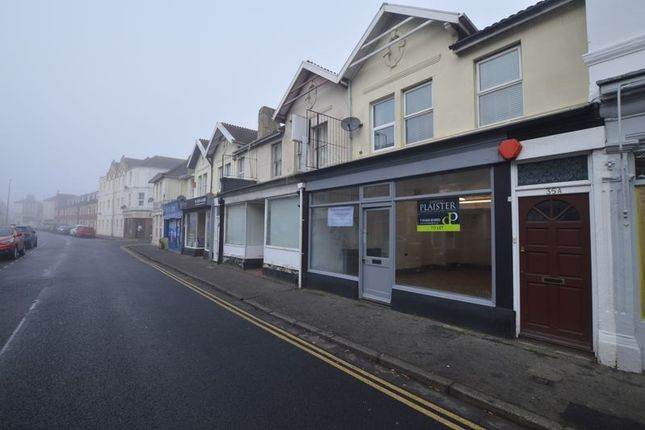 Retail premises to let in Baker Street, Weston-Super-Mare