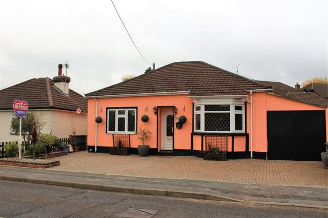 Thumbnail Detached bungalow for sale in Shawfield Road, Ash