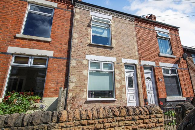 Terraced house for sale in Furlong Avenue, Arnold, Nottingham