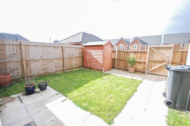 Rear Garden of Ryder Court, Killingworth, Newcastle Upon Tyne NE12