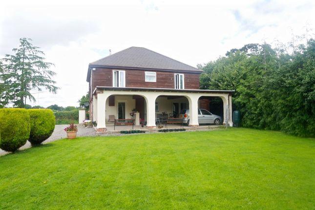 Thumbnail Detached house for sale in Dudleston, Ellesmere