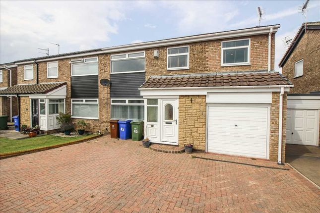 Thumbnail Semi-detached house to rent in Kinloss Square, Eastfield Dale, Cramlington