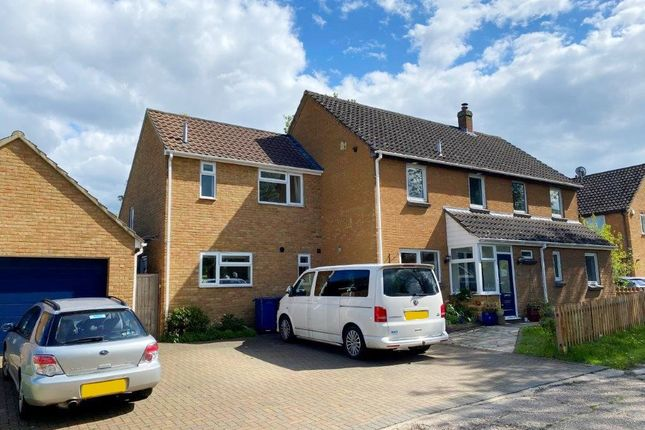 Thumbnail Detached house for sale in Whitecroft Road, Meldreth, Royston