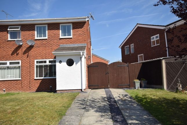 2 bed semi-detached house to rent in The Meadows, Gwersyllt LL11