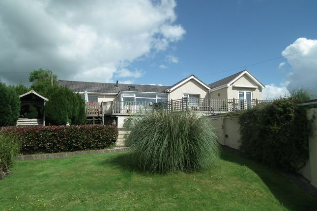 Thumbnail Detached bungalow for sale in Morval, Looe, Cornwall