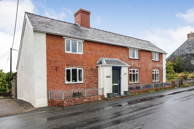 Thumbnail Detached house for sale in Adfa, Newtown, Powys