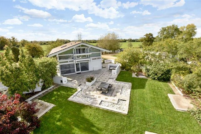 Thumbnail Detached house for sale in Wanborough, Swindon