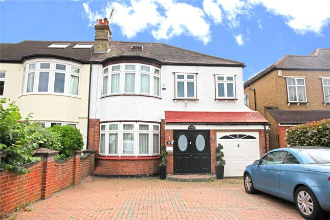 Thumbnail Semi-detached house for sale in Hadley Road, Enfield, London