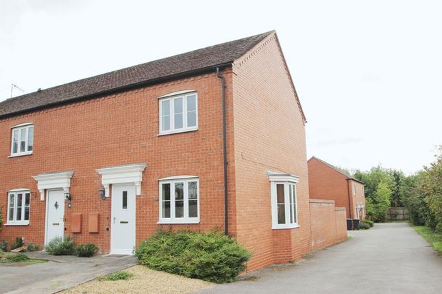 Thumbnail End terrace house for sale in Addison Drive, Stratford-Upon-Avon