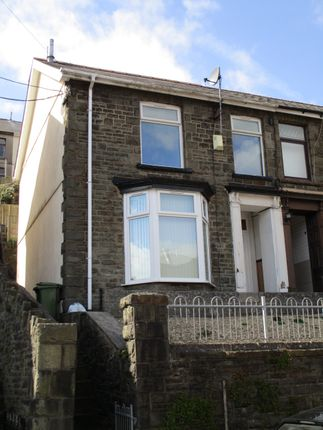 Thumbnail Semi-detached house for sale in Penrhiwceiber Road, Penrhiwceiber, Mountain Ash