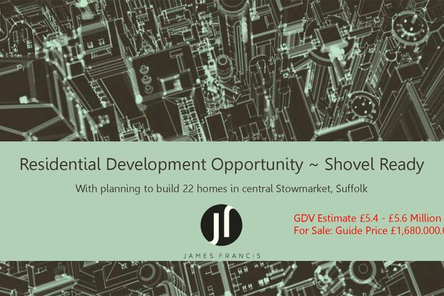 Thumbnail Land for sale in Violet Hill Road, Stowmarket