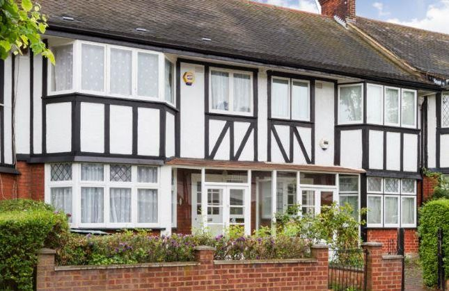 Thumbnail Terraced house to rent in Tudor Gardens, West Acton, London