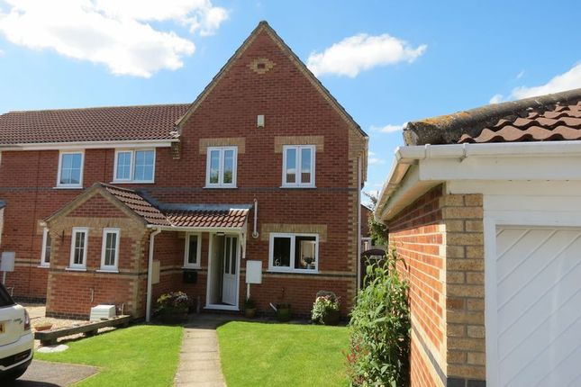 2 bed semi-detached house for sale in Templemeads Close, Morton, Bourne