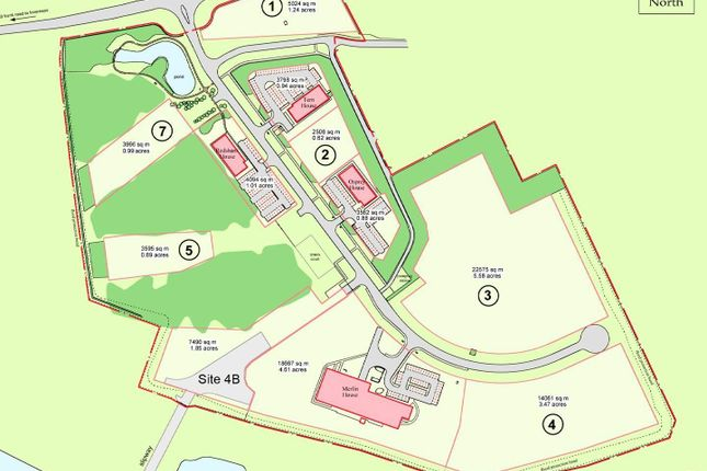 Thumbnail Land for sale in Development Sites, Alness Point Business Park, Alness