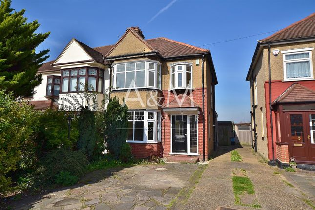 Thumbnail Semi-detached house for sale in Fullwell Parade, Fullwell Avenue, Ilford