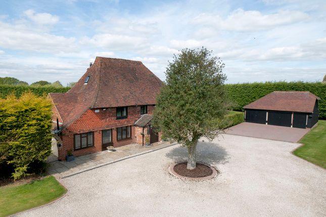Thumbnail Farmhouse for sale in Holly Farm Road, Otham, Maidstone