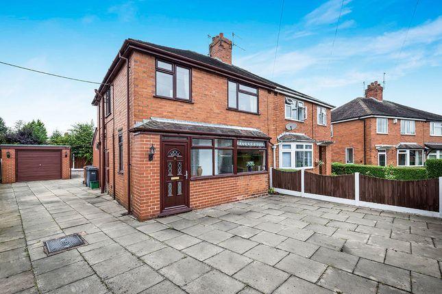 Thumbnail Semi-detached house for sale in Elmsmere Avenue, Blurton, Stoke-On-Trent