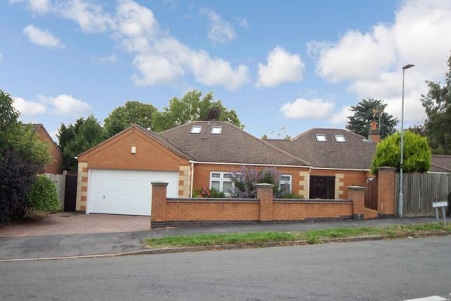 Thumbnail Detached bungalow for sale in Hill Rise, Burbage, Hinckley