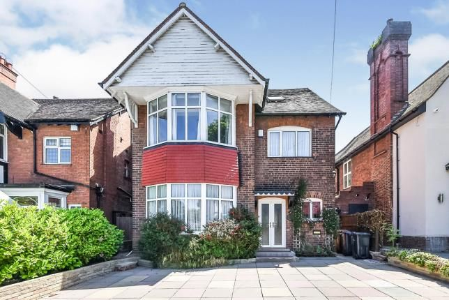 Thumbnail Detached house for sale in Somerset Road, Handsworth Wood, Birmingham