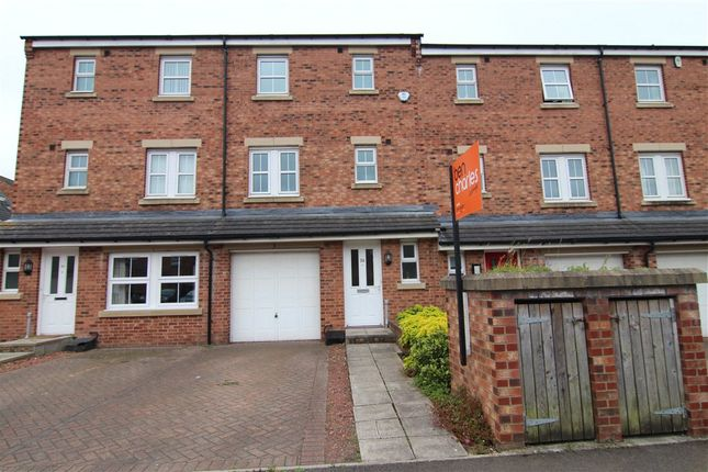 Thumbnail Terraced house for sale in Herons Court, Gilegate