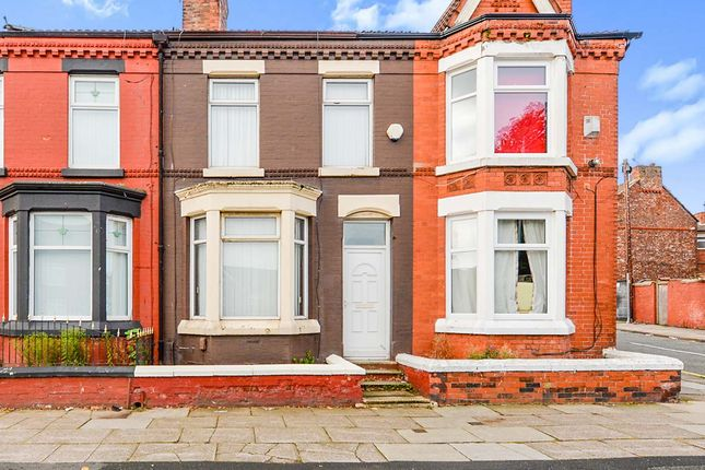 Thumbnail Terraced house to rent in Lower Breck Road, Liverpool