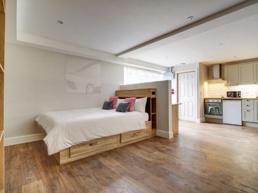 Thumbnail Studio to rent in Flat A, Park View, Nottingham
