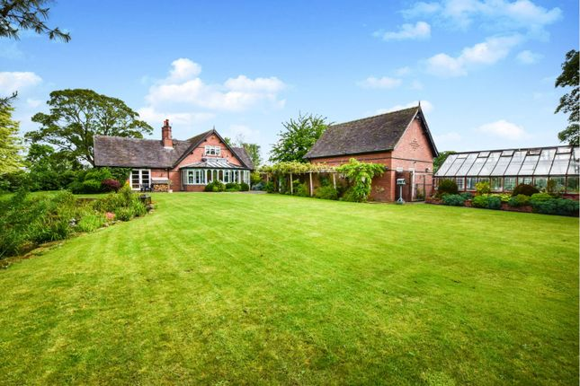Thumbnail Detached house for sale in Willow Cottage, Rushy Lane, Barthomley