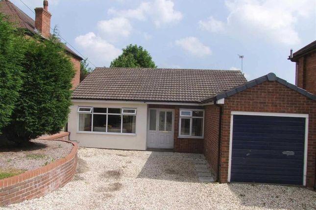 Thumbnail Detached bungalow for sale in Burton Road, Midway, Swadlincote, Derbyshire