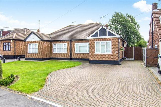 Thumbnail Semi-detached bungalow for sale in Church Road, Benfleet