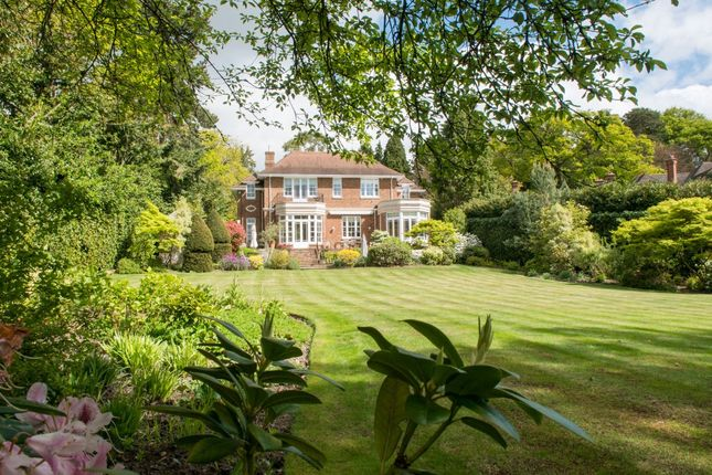 Thumbnail Detached house for sale in Wood Lane, St. Georges Hill, Weybridge