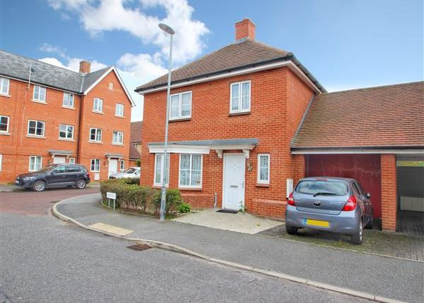 Thumbnail Detached house for sale in Kirk Way, Myland, Colchester