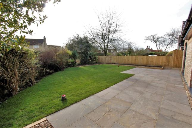 Garden of Corby Road, Swayfield, Grantham NG33