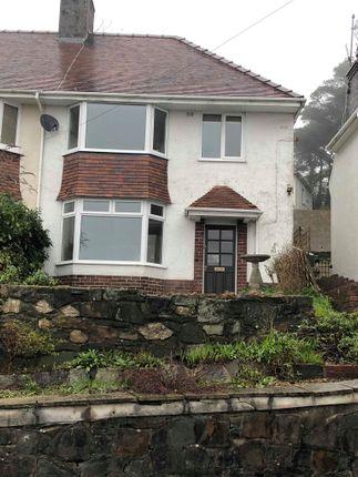 Thumbnail Semi-detached house to rent in Lon Gwynfryn, Sketty