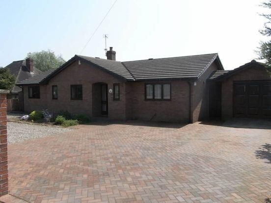 Thumbnail Bungalow for sale in The Wern, Weston Rhyn, Oswestry