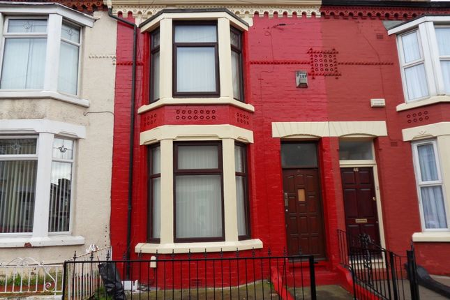 Thumbnail Terraced house to rent in Benedict Street, Bootle