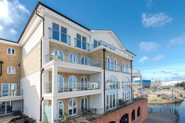 Thumbnail Flat for sale in Hamilton Quay, Eastbourne, Sovereign Harbour