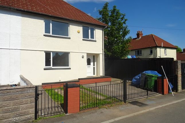 Thumbnail 3 bed semi-detached house to rent in Stanway Place, Ely, Cardiff.