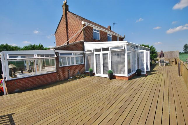 Thumbnail Detached house for sale in Roman Bank, Holbeach Bank, Spalding