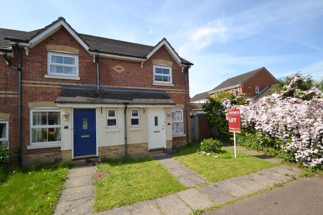 Thumbnail End terrace house to rent in Desborough Way, Thorpe St. Andrew, Norwich