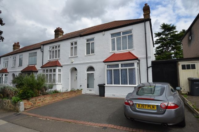 Thumbnail End terrace house to rent in Manor Lane, London