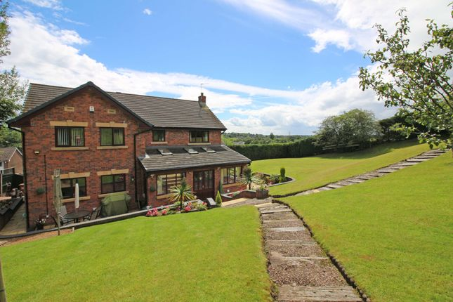 Thumbnail Detached house for sale in Schoolside Lane, Middleton, Manchester