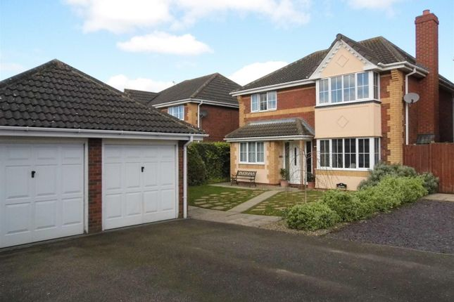 Thumbnail Property for sale in Sandover Close, West Winch, King's Lynn