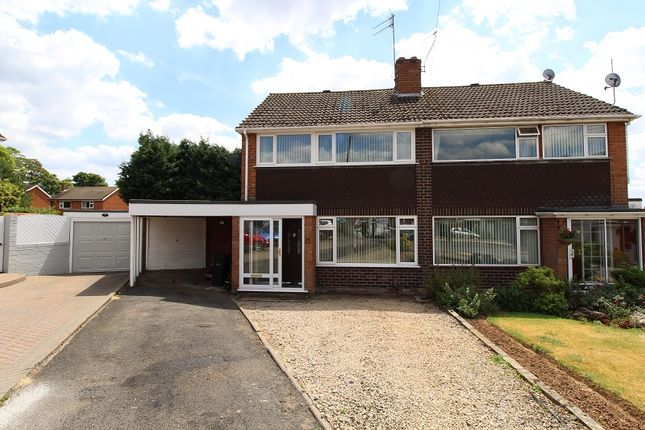 Thumbnail Semi-detached house for sale in Cavendish Close, Kingswinford
