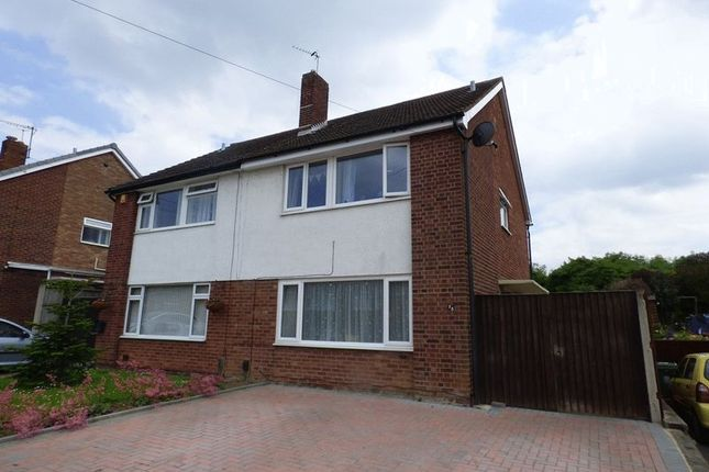 Thumbnail Semi-detached house for sale in Holmwood Drive, Tuffley, Gloucester