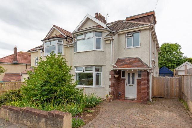 Thumbnail Semi-detached house for sale in Hillsdon Road, Westbury-On-Trym, Bristol
