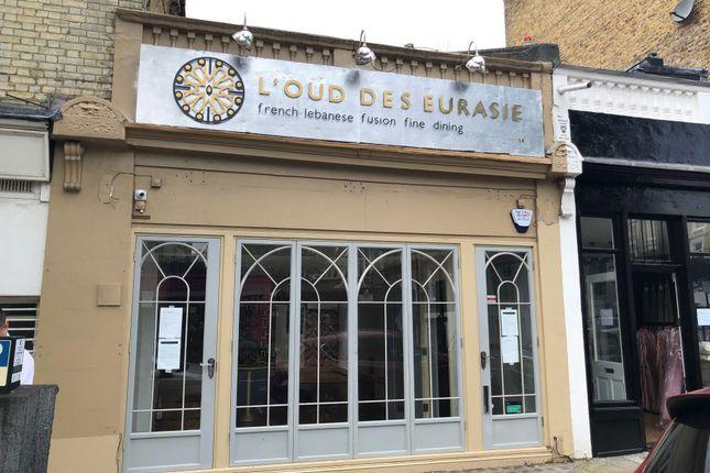 Thumbnail Restaurant/cafe to let in Langton Street, Chelsea