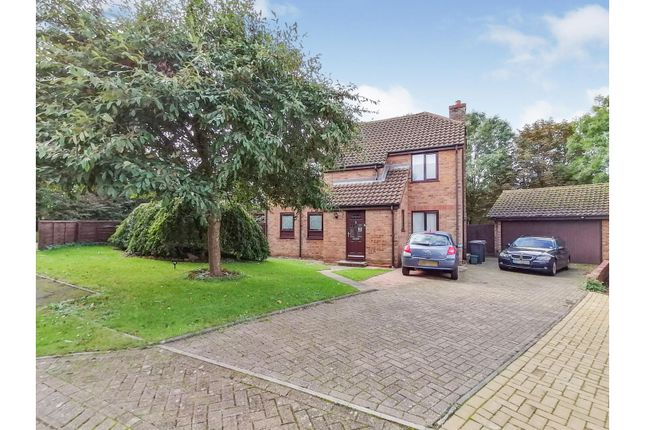 4 bed detached house for sale in Kinewell Close, Ringstead NN14