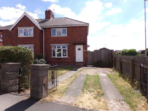 Thumbnail Semi-detached house for sale in Oak Crescent, Walsall, West Midlands